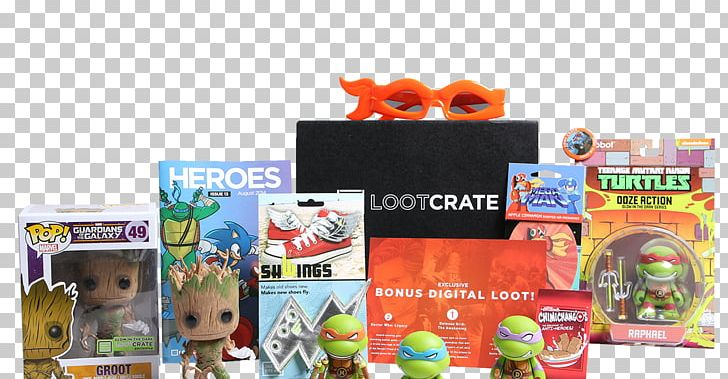 Subscription Business Model Loot Crate Subscription Box PNG.