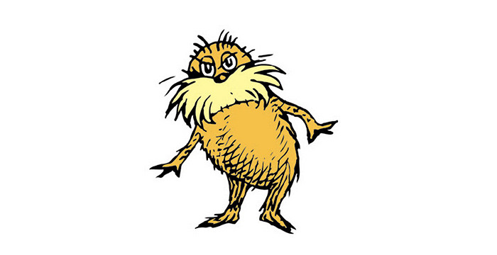 The Lorax Clipart.