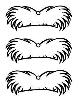 Lorax Mustache Template.