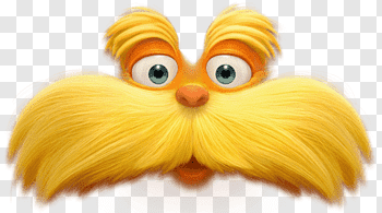 The Lorax cutout PNG & clipart images.
