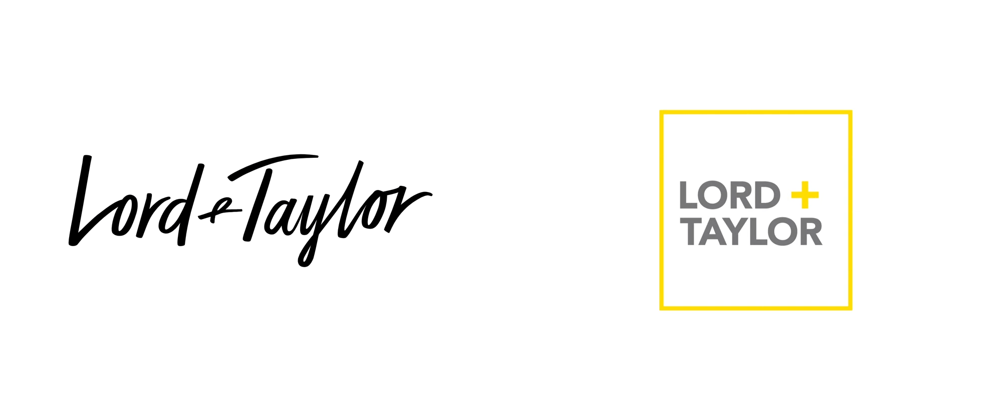 Brand New: New Logo for Lord + Taylor.