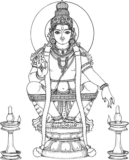 Lord ayyappa clipart 4 » Clipart Station.