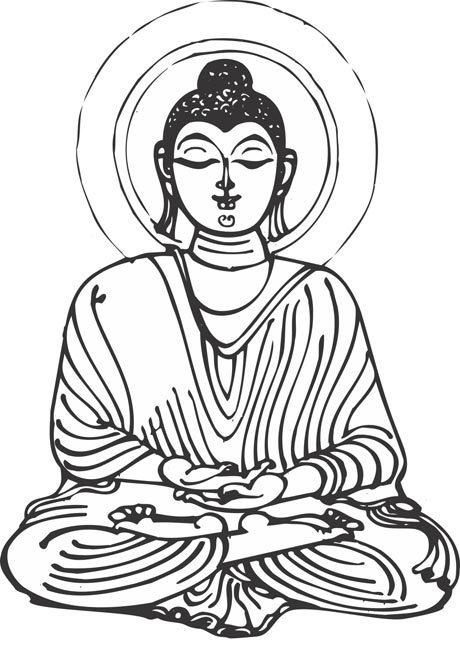 Lord buddha clipart 1 » Clipart Portal.