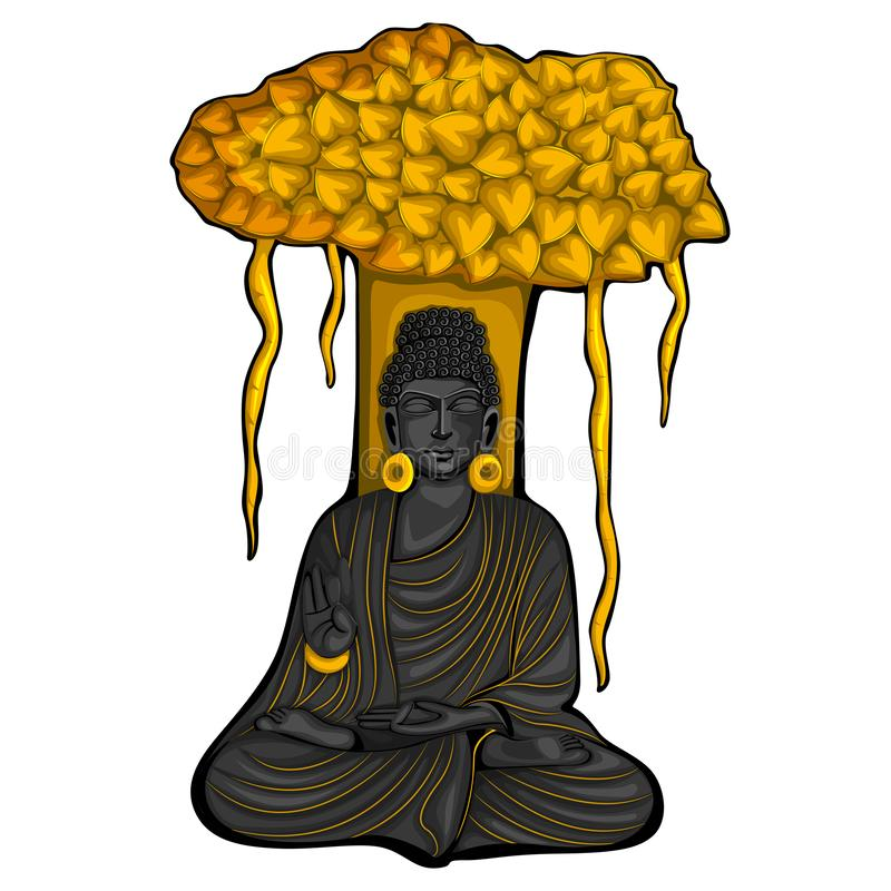 Lord Buddha Stock Illustrations.