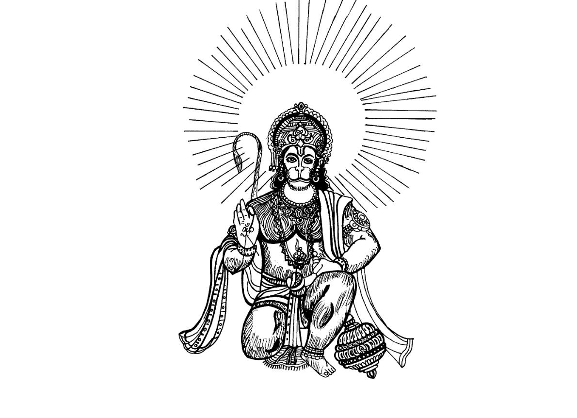 94+ Hanuman Clipart.