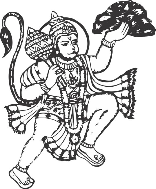 Hanuman Clipart & Look At Clip Art Images.