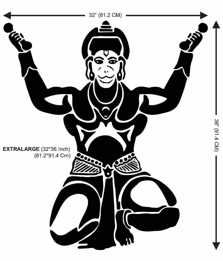 Lord hanuman clipart 8 » Clipart Station.