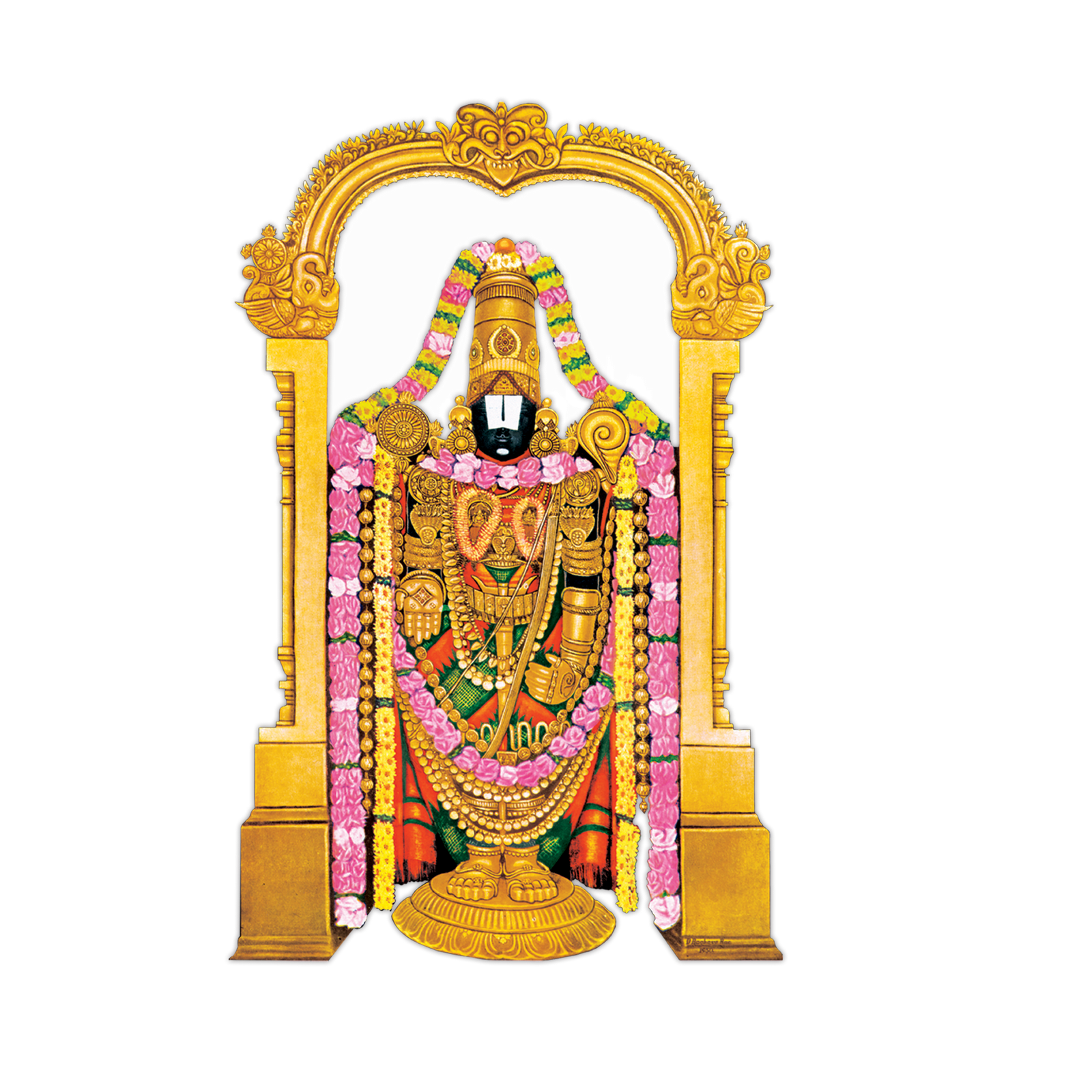 Venkateswara PNG Images Transparent Free Download.