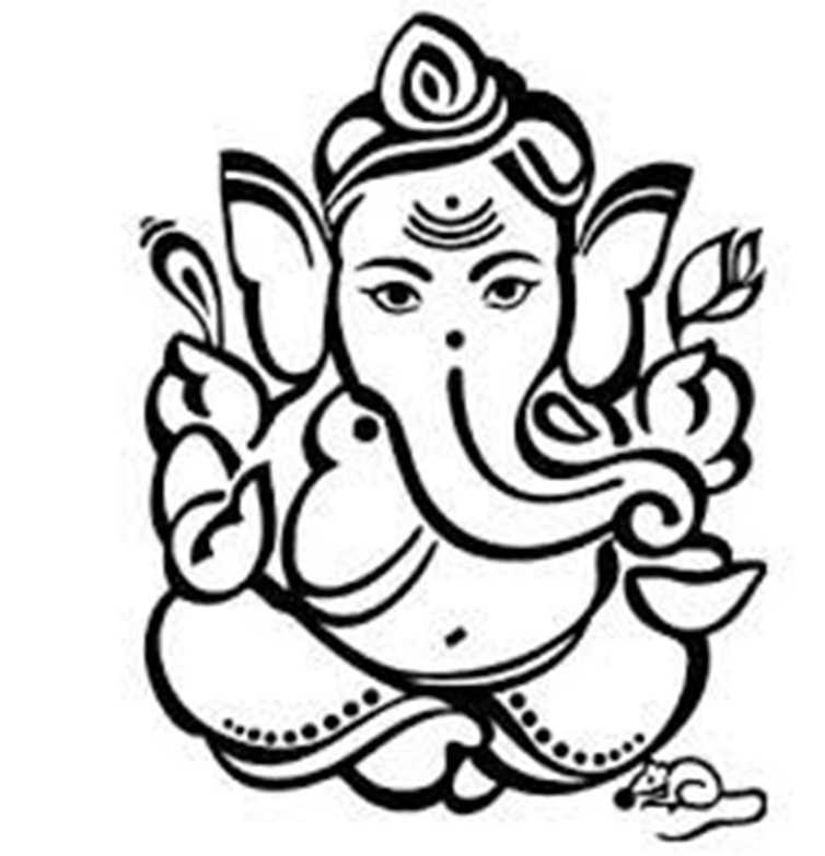 God Ganesh Drawings.