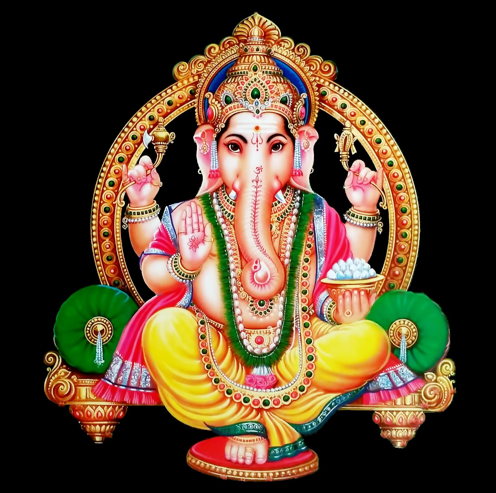 God Ganesh png images Transparent Backgound.