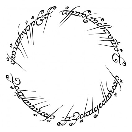 Clipart lord of the rings.