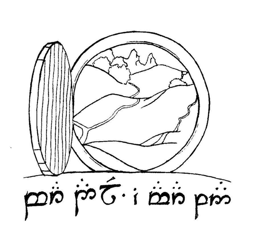 Lord Of The Rings Clip Art.