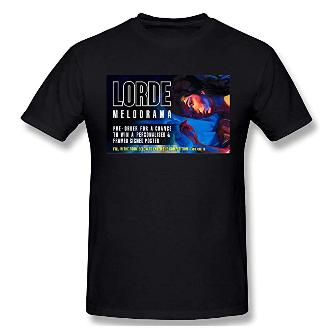 Amazon.com: Digitwhale Cotton with Lorde Melodrama Logo T.