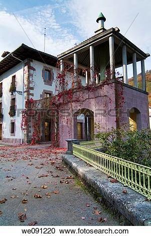 Stock Photography of Lordship of Bertiz in Oieregi. Navarra. Spain.