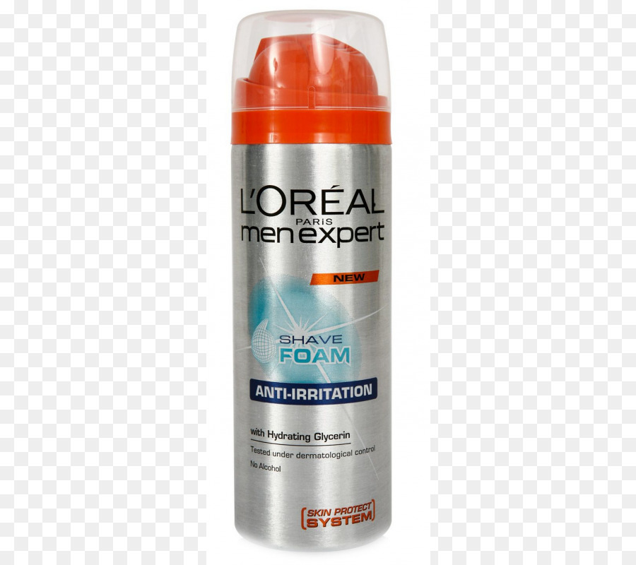 l\'oreal men expert hydra sensitive shave foam 200 ml clipart.