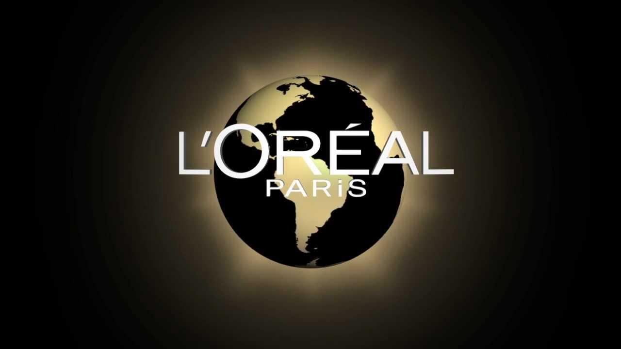 Motion design logo L\'Oréal.