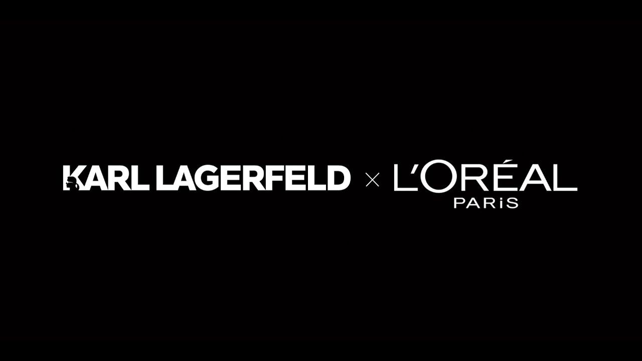 KARL LAGERFELD x L\'ORÉAL PARIS.