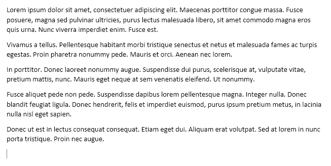 Generate Random Text or Lorem Ipsum Text in MS Word.