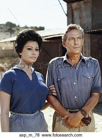 Pictures of 1960S 1966 Film Judith Starring Peter Finch And Sophia.
