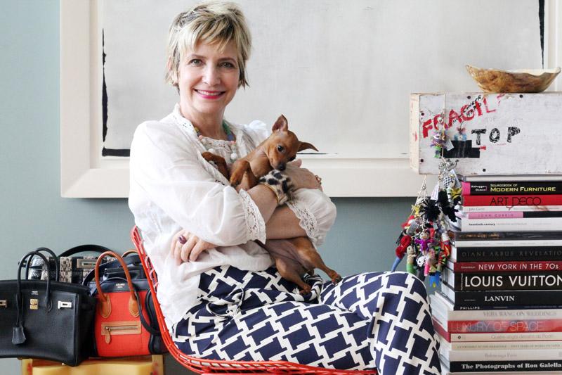 Lori Goldstein, Style Editor.