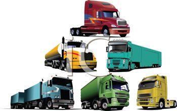 Collection of Realistic Semi Trucks.