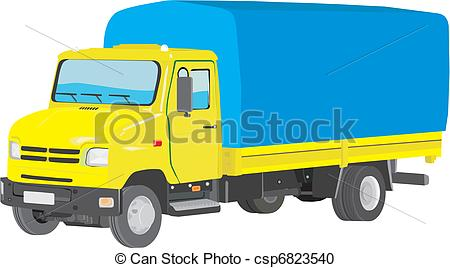 Lorry truck clipart.