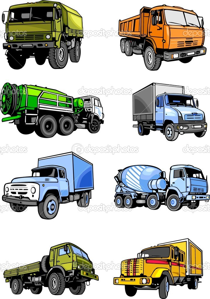 Lorries clipart #4