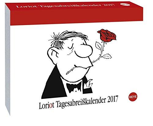 EAN 9783840143311 Loriot Tagesabreißkalender Kalender 2017.