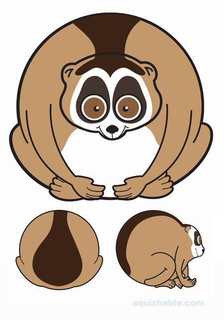 squishable.com: Squishable Slow Loris. An Adorable Fuzzy Plush to.