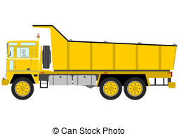 Tipper truck Clip Art Vector Graphics. 395 Tipper truck EPS.