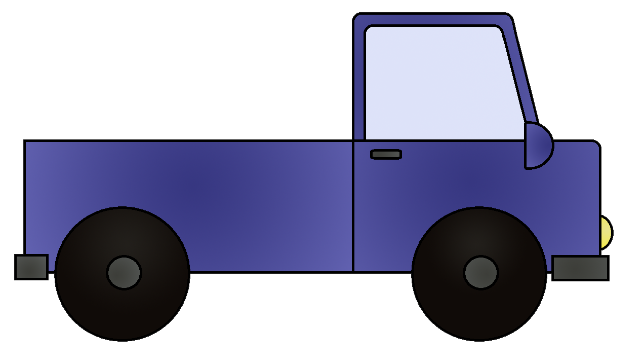 Transportation truck clipart.