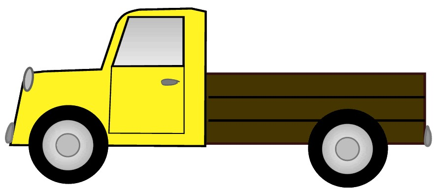 Semi truck clipart kid 2.