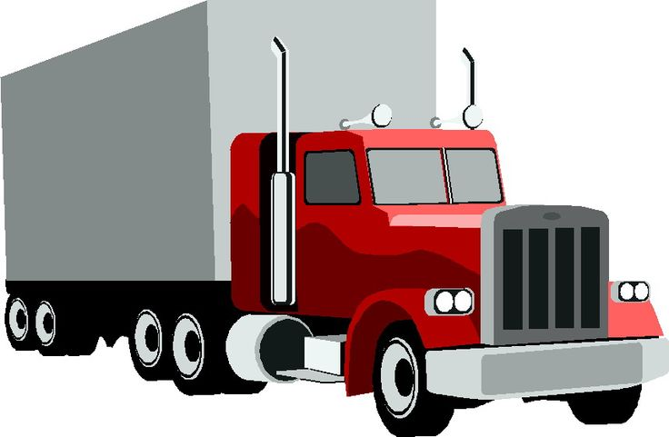 Truck clip art black and white free clipart images clipartcow.