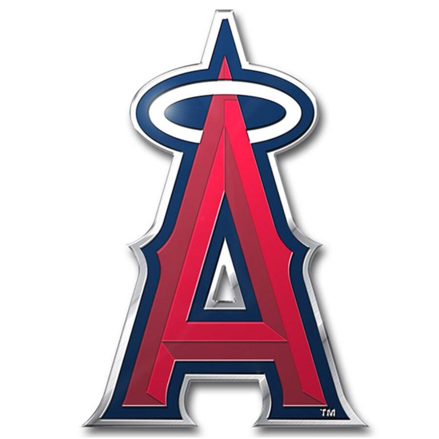 Los Angeles Angels Color Emblem 3 Car Team Decal.