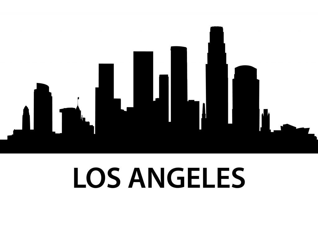 Los Angeles Skyline Silhouette Png , (+) Pictures.