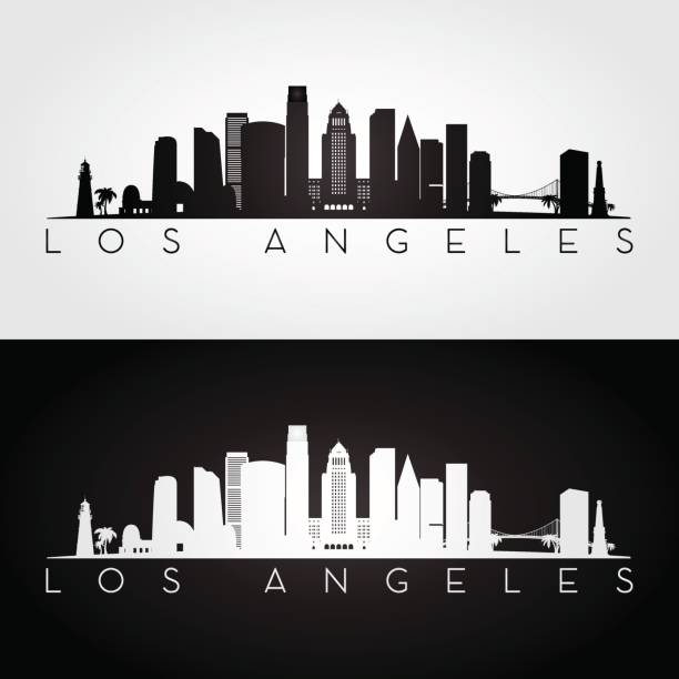 Best City Of Los Angeles Illustrations, Royalty.