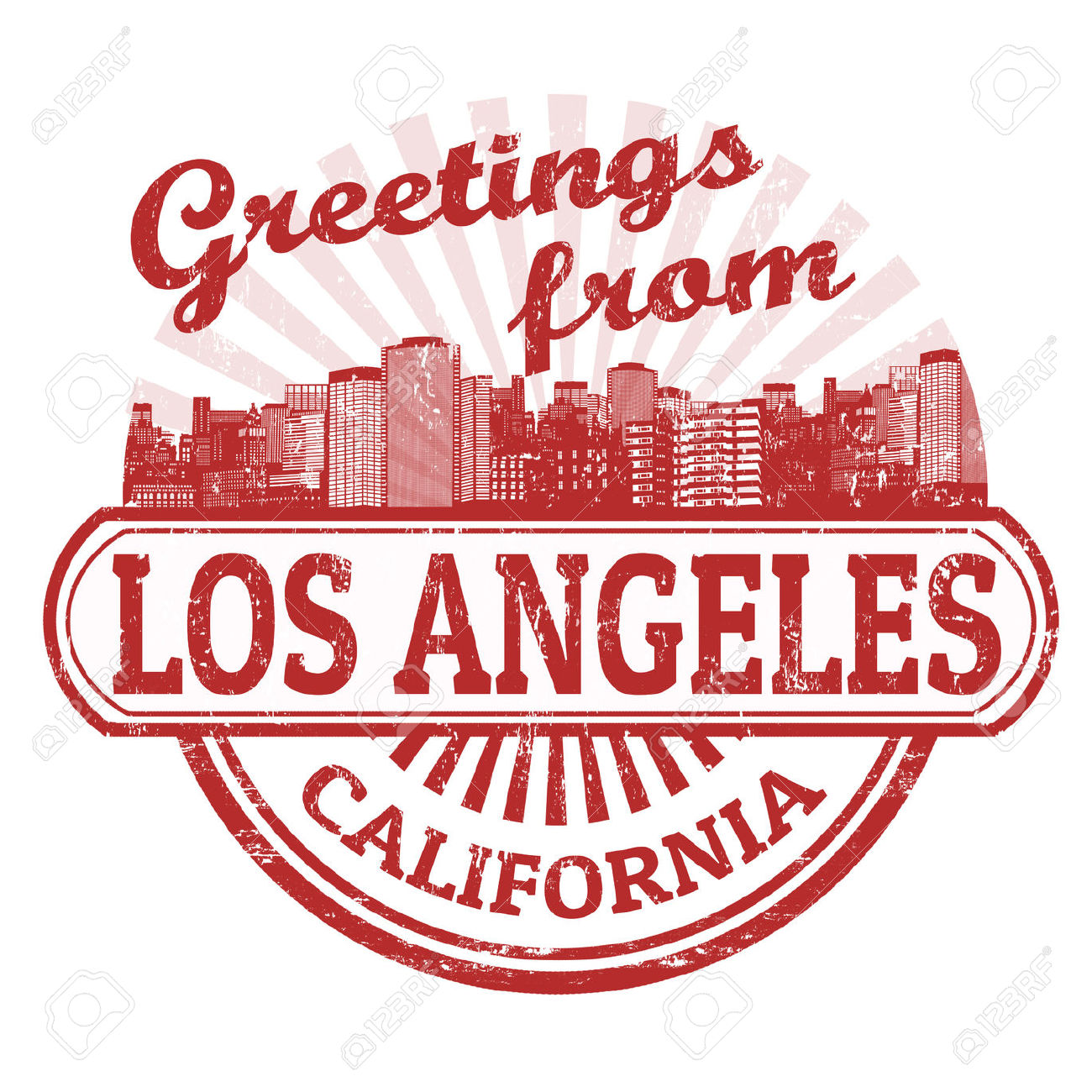 Hd clipart los angeles.