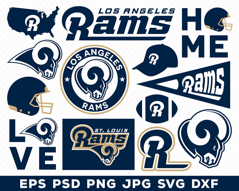 Los Angeles Rams, Los Angeles Rams logo, Los Angeles Rams.