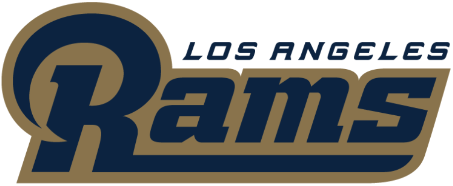 Los Angeles Rams Wordmark Logo.