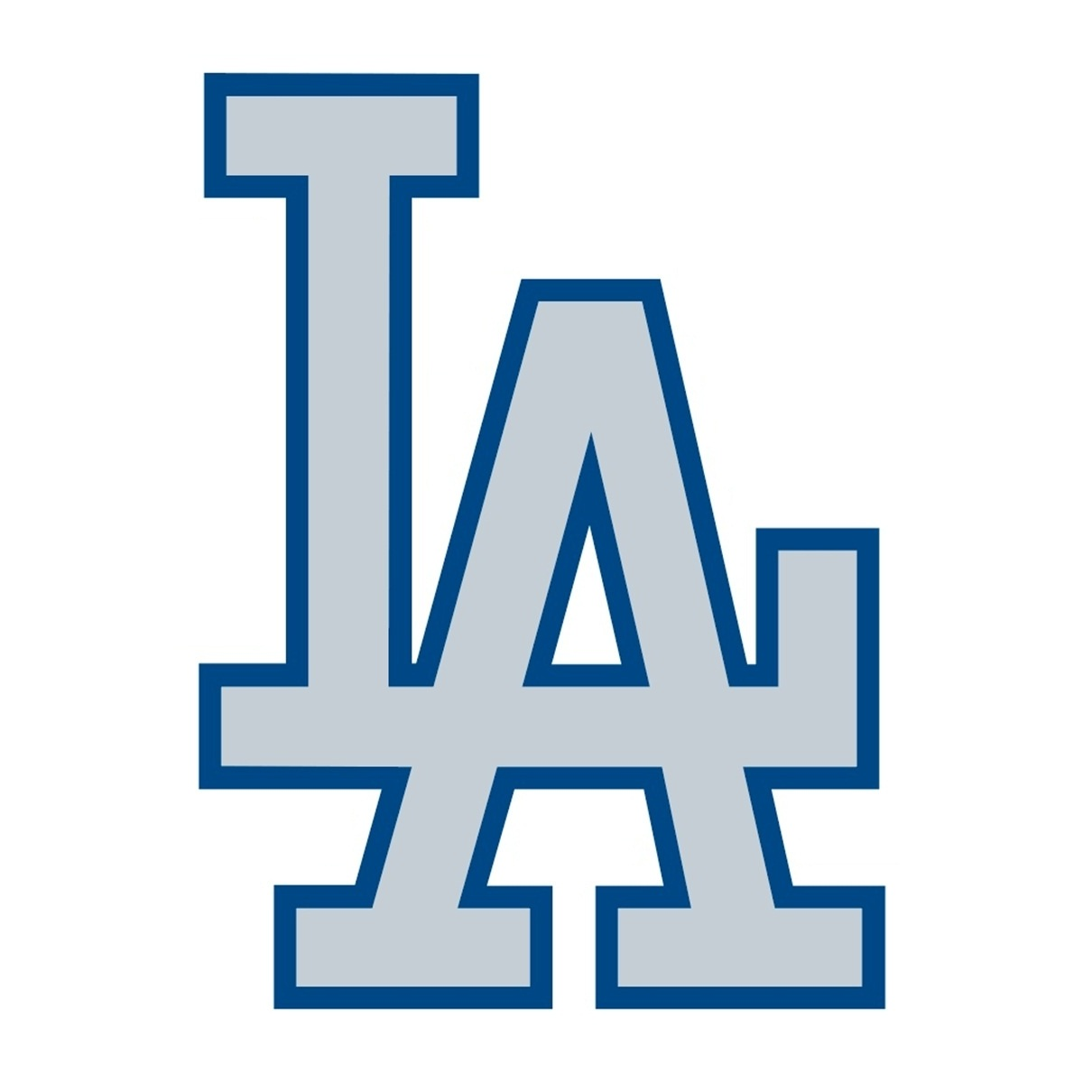Los angeles dodgers clipart.