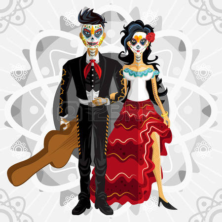 7,486 Day Of The Dead Cliparts, Stock Vector And Royalty Free Day.