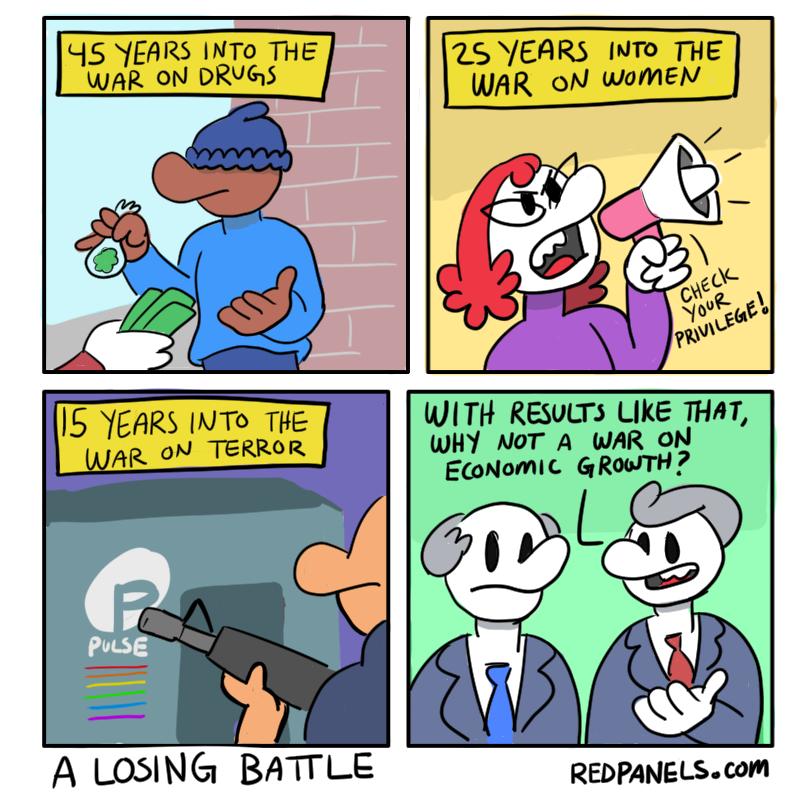 Redpanels: the alternative webcomic.