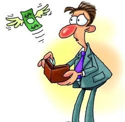 Money Loss Clipart.