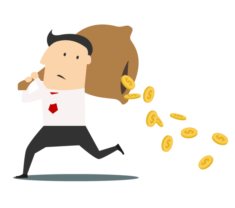 Loss Of Money Clipart.