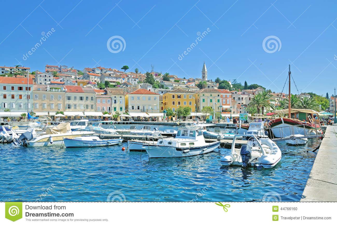 Mali Losinj,Losinj Island,adriatic Sea,Croatia Stock Photo.