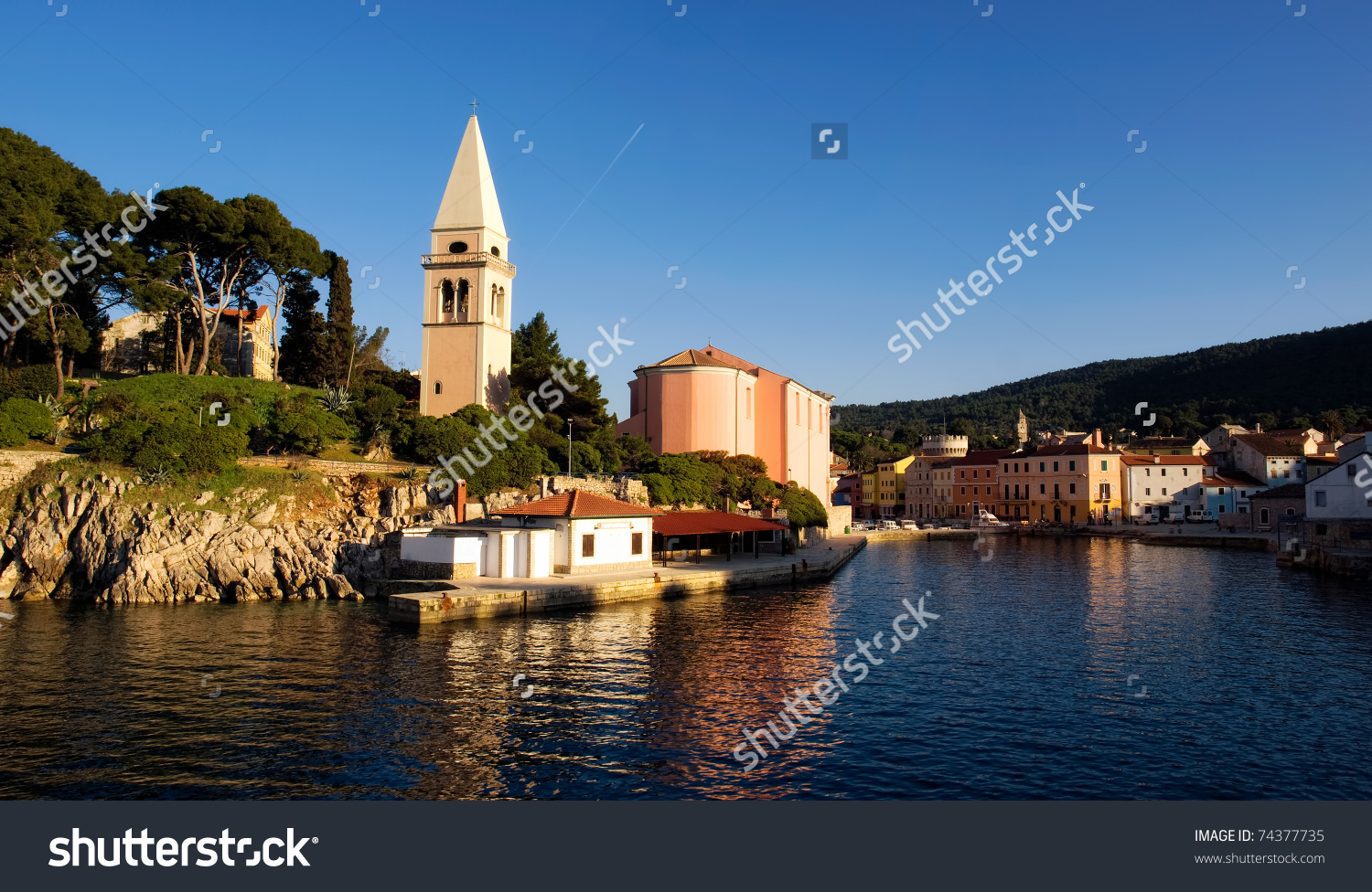 Veli Losinj Is The Second Largest Town On The Island Losinj.