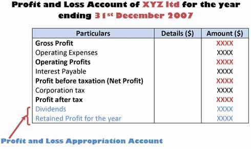 Profit And Loss Account Meaning And Definition.