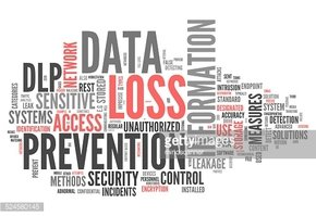 Word Cloud Data Loss Prevention stock vectors.