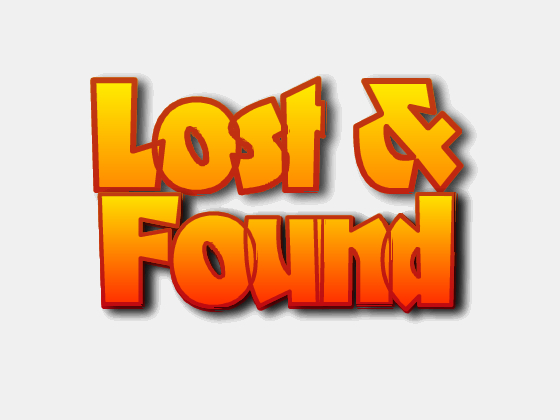 Lost and Found Clipart.