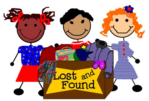 Lost and Found at Parsley Elementary.